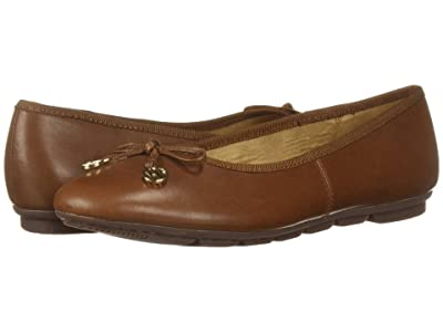 Hush Puppies Abby Bow Ballet (Dachshund Leather) Women