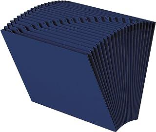 Smead Expanding File, 21 Pockets, Alphabetic (A-Z), Letter Size, Navy Blue (70720)