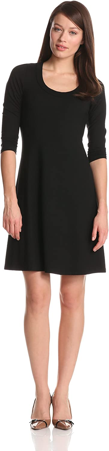 Karen Kane Women's ThreeQuarter Sleeve ALine Dress