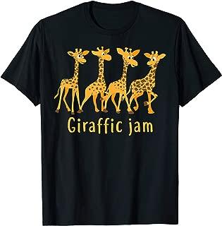 Giraffic Jam Shirt For Kids And Toddlers Who Loves Giraffes