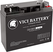 VICI Battery VB18-12 - 12V 18AH Replacement for Interstate BSL1116, BSL 1116 12V 18Ah UPS Battery