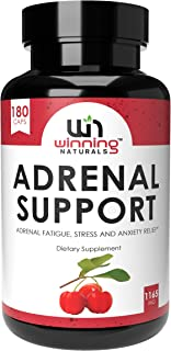 WINNING NATURALS Adrenal Support Supplements & Cortisol Manager to Help Adrenal Health Fatigue, Stress Reli...
