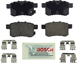 Bosch BE1336H Blue Disc Brake Pad Set with Hardware for 2009-12 Acura TSX and 2008-10 Honda Accord - REAR