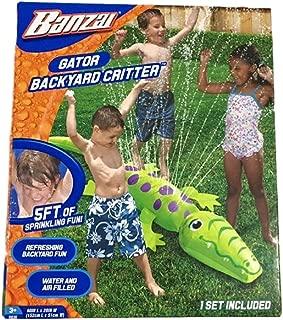 Banzai Gator Backyard Critter Sprinkler