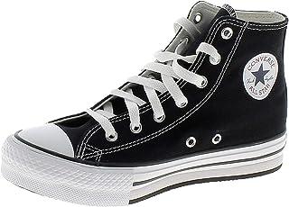 Converse All Star Chuck Taylor EVA Lift-Hi Chaussures DE Sport Noires Fille 671107C