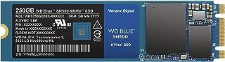 WD Blue SN500 NVMe SSD, M.2, PCIe Gen 3, Velocità di Lettura fino a 1.700 MB/sec e di scrittura sequenziale fino a 1.450 M...
