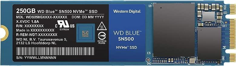 WD Blue SN500 250GB NVMe Internal SSD - Gen3 PCIe, M.2 2280, 3D NAND - WDS250G1B0C
