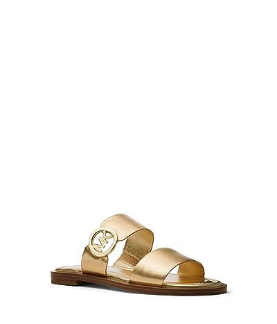 MICHAEL Michael Kors Summer Sandal (Pale Gold) Women