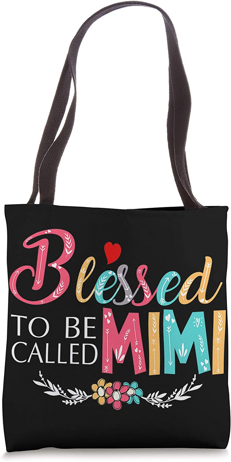 Blessed to be called Mimi Colorful For Grandma Tote Bag