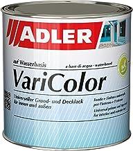 ADLER Varicolor 2-in-1 acryl gekleurde lak voor binnen en buiten - 375 ml RAL6034 pastelturkoois - weerbestendige lak en g...