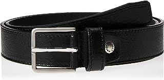 Sponsored Ad – OCTAVE Men's Pin Buckle Thread Stitching Genuine Leather Belt, Black
