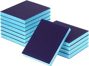 eBoot Sanding Sponge Grit Sanding Blocks, Washable and Reusable Sand Sponge Kit, 12 Pieces (Superfine Grade)