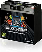 Black 12V 18AH 600 Watts M6/T6 Car Audio Battery replaces XS XP750 D680 S680