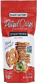 Snack Factory, Pretzel Crisps Everything, 7.2 Ounce