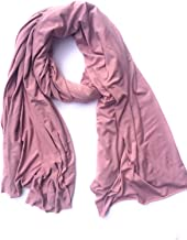 SALE $32.99 Fluxus Nomad Scarf in Wisteria, Oversized Cotton Wrap, Made in USA, Travel Wrap
