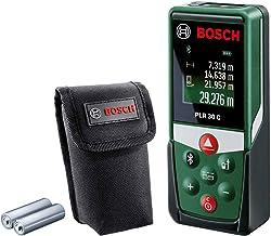 Bosch laserafstandsmeter PLR 30 C (met appfunctie, meetbereik: 0,05–30 m, nauwkeurigheid: ±2 mm, in kartonnen doos)