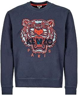 Kenzo Men Sweatshirt Tiger blu