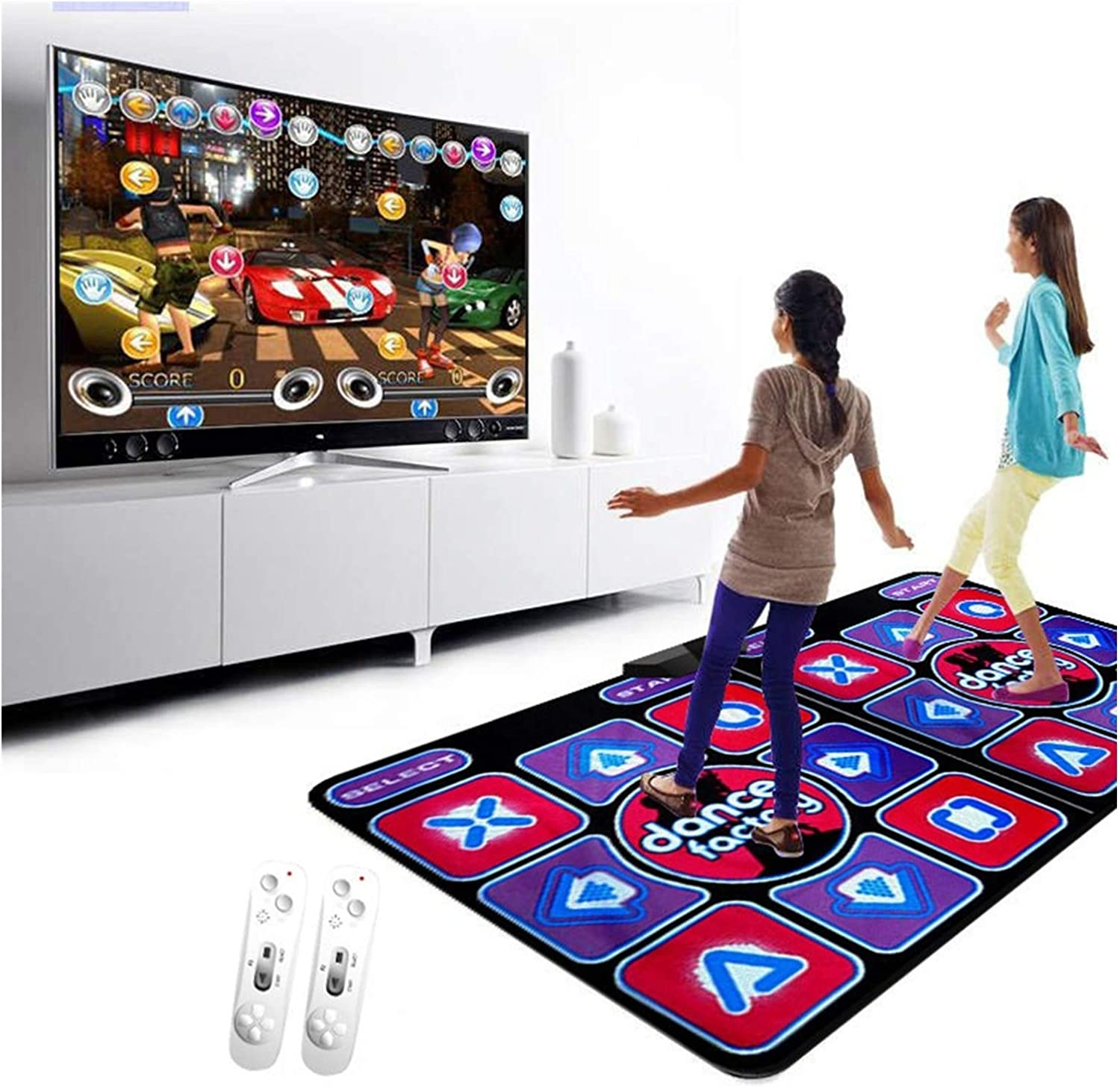 ACD Dance Mat Double TV Interface Computer Dual In Max 61% OFF stock Rug Player
