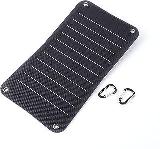 WANGYONGQI Chargeur Panneau Solaire 10W 5V, pour Téléphone Portable Banque d'alimentation Chargeur De Batterie Solaire Mat...