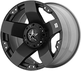 20x8.5 KMC XD Offroad Series XD775 Rockstar 8x170 10 Offset (5.14 inch backspace) 130.81 Hub - Matte Black - XD77528587310 [ Authorized Dealer]