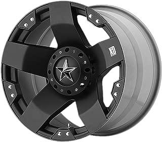 XD SERIES BY KMC WHEELS ROCKSTAR MATTE BLACK ROCKSTAR 17x8 6x135.00/6x139.70 MATTE BLACK (35 mm)