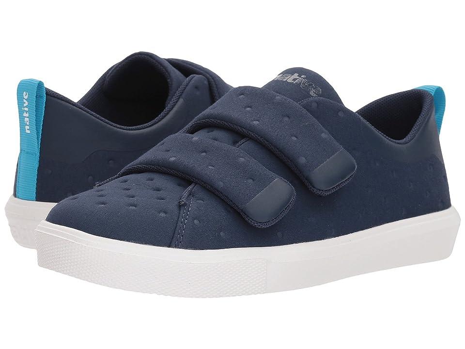 Native Kids Shoes Monaco HL (Little Kid) (Regatta Blue/Shell White) Kids Shoes