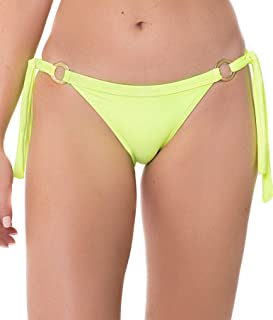 Pina Colada Tie-Side Cheeky Bikini-Bottom