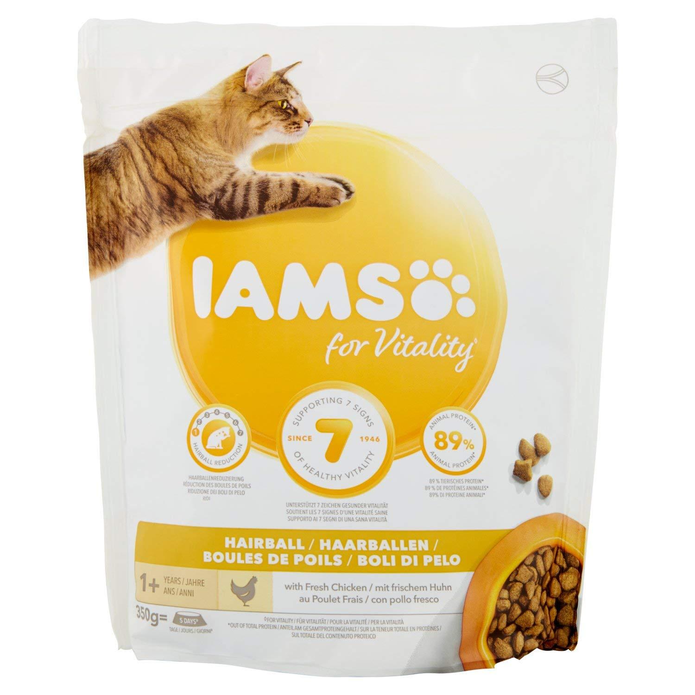 IAMS for Vitality Bolas de Pelo Alimento para Gatos con pollo ...
