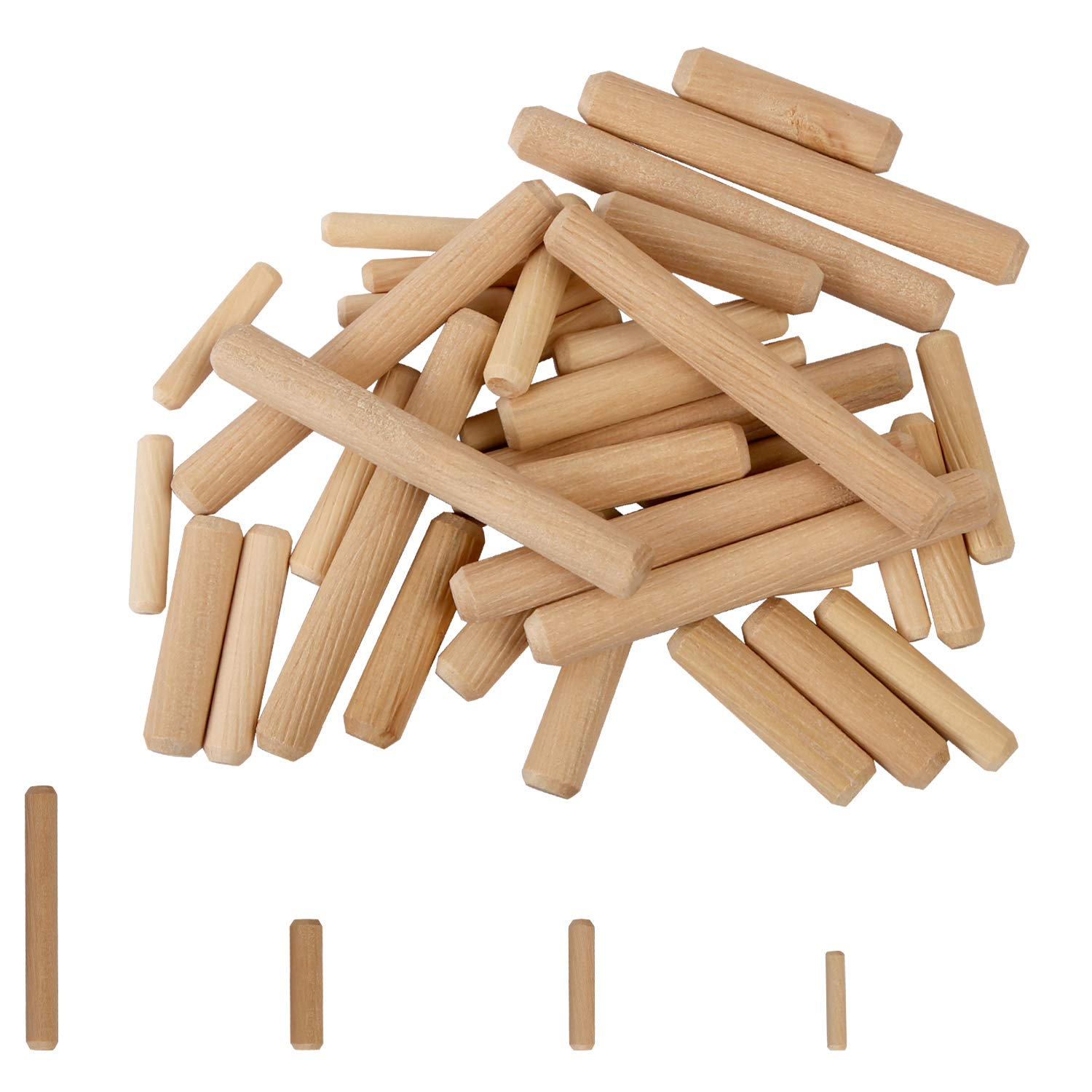 KEILEOHO 1000 PCS 1 4 5 16 trend rank 3 8 Inch Clearance SALE Limited time Wood 6mm Diameter 8mm 10mm