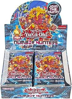 YuGiOh Number Hunters Booster Box (24 Packs)