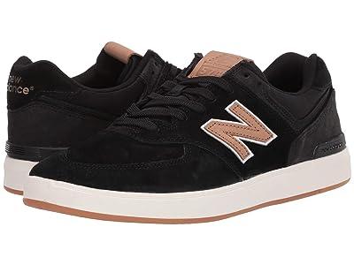 New Balance Numeric AM574 (Black/Tan) Men