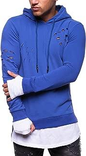 Behype Men's Sweater Hoodie Sweatshirt Pullover Longsleeve Destroyed MT-011