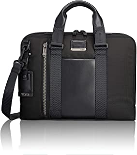 tumi alpha bravo slim briefcase