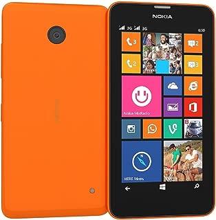 Nokia Lumia 635 8GB Carrier Unlocked GSM 4G LTE Windows 8.1 Quad-Core Phone - Orange