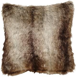 Black Forest Décor Pillow (Chinchilla Faux)