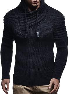 Leif Nelson Men's Hoodie Pullover Long Sleeve Knitted Sweater Sweatshirt Warm Jumper Winter Autumn Longsleeve LN5445