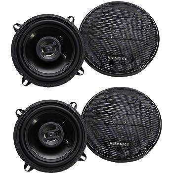 2 Pack Hifonics Zeus 200 Watt 5.25 Inch 2 Way 4 Ohm Car Audio Coaxial Speakers