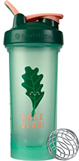 BlenderBottle Just For Fun Classic V2 Shaker Bottle, 28-Ounce, Kale Yeah