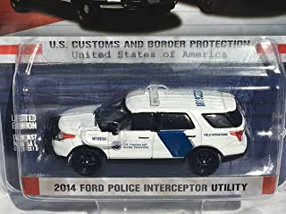 Greenlight 1/64 US Customs 2014 Ford PIU Police SUV - EXCLUSIVE ISSUE!