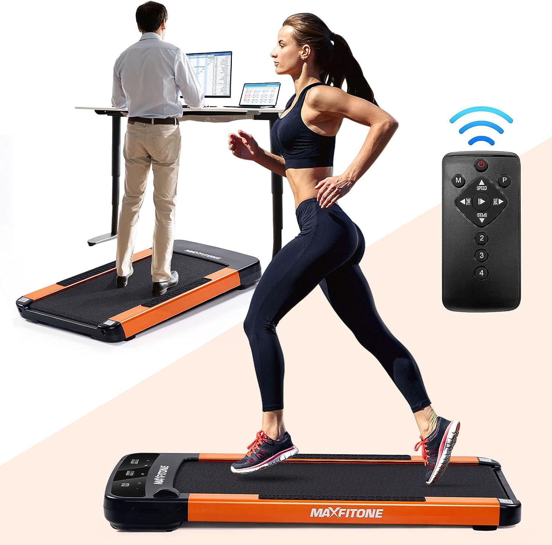 MAXFITONE Under Desk Treadmill Walking Surprise price Tread Portable Max 64% OFF