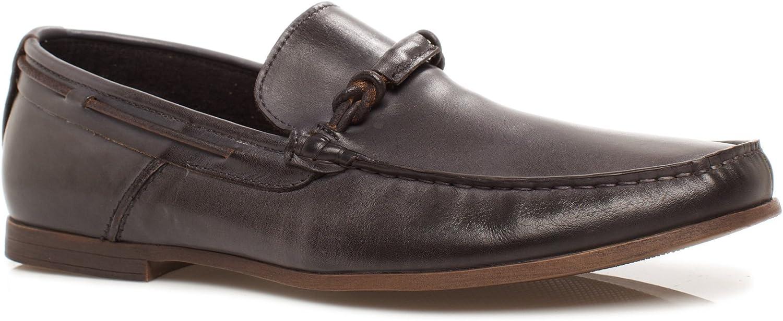 Kenneth Cole REACTION Men's Nick-Name Slip-On Loafer, Black, 12 M US