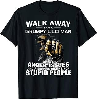 Walk Away I Am Grumpy Old Man T-Shirt