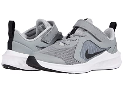Nike Kids Downshifter 10 (Little Kid) (Particle Grey/Black/Grey Fog/White) Kid