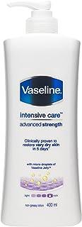 Vaseline Advanced Strength Body Lotion, 400ml