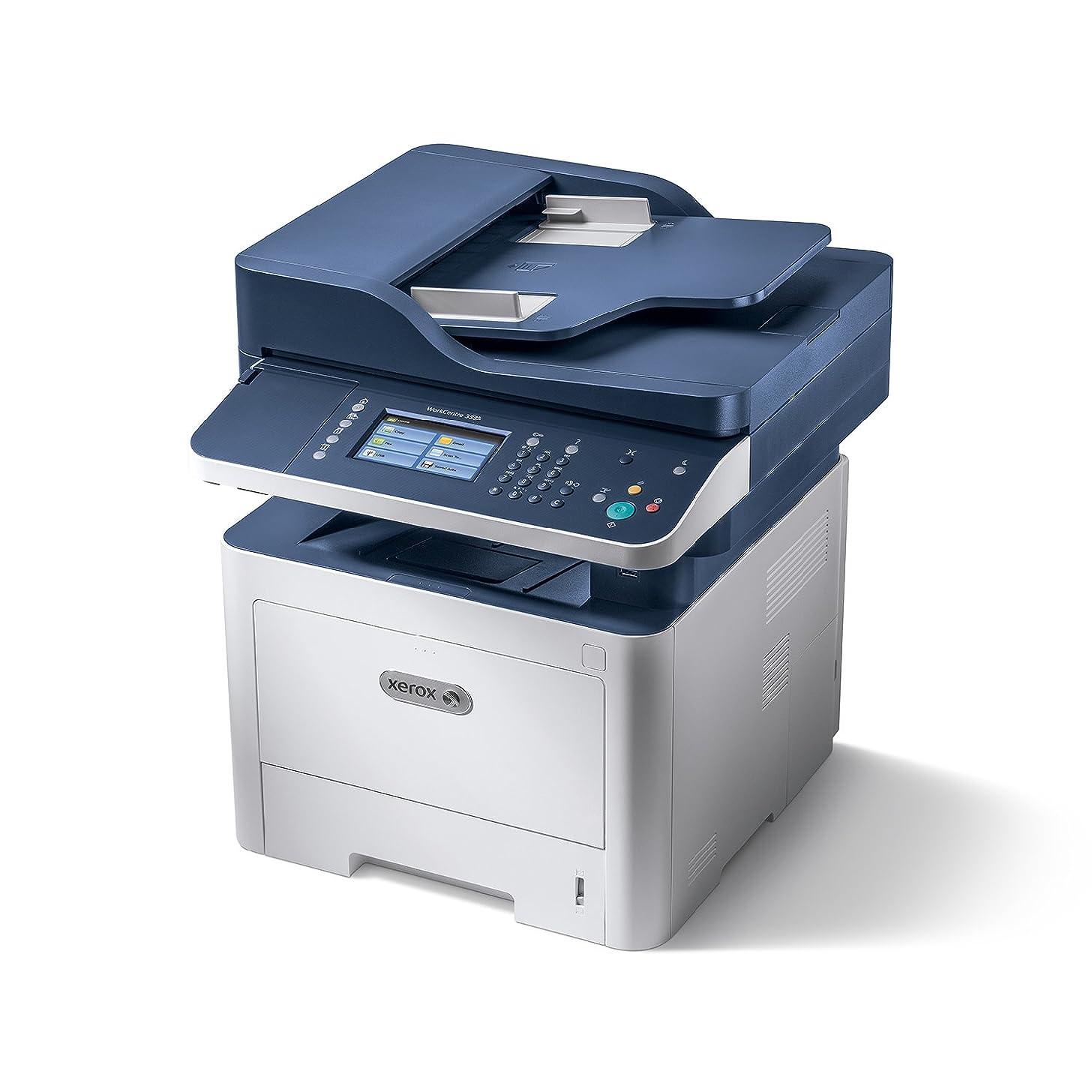 Xerox 3335/DNI WorkCentre Monochrome Multifunction Printer, Blue/White