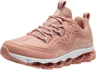 XTEP Women's Pink Fashionable Athletics Air Mega Sports Running Shoes