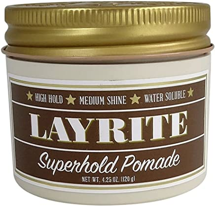 Layrite Super Hold Deluxe Hair Gel, 4 Oz