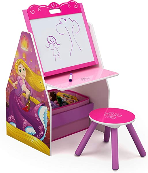 Delta Children Easel And Play Station Disney Princess