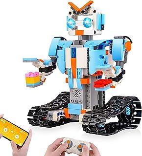 Sillbird STEM Building Blocks Robot for Kids- Remote...
