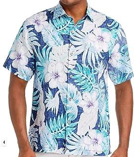 Tommy Bahama コンカン ジャングルリネン キャンプシャツ